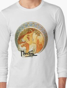 Mucha – Poetry Long Sleeve T-Shirt
