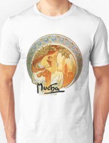 Mucha – Poetry Unisex T-Shirt