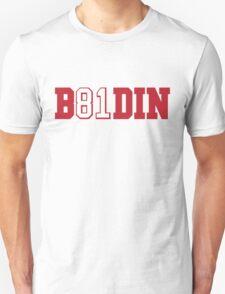 B81DIN (Boldin 81) - WR #81 Anquan Boldin of the San Francisco 49ers  T-Shirt
