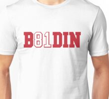 B81DIN (Boldin 81) - WR #81 Anquan Boldin of the San Francisco 49ers  Unisex T-Shirt