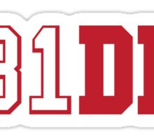 B81DIN (Boldin 81) - WR #81 Anquan Boldin of the San Francisco 49ers  Sticker