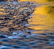 Sunset River by Photopa