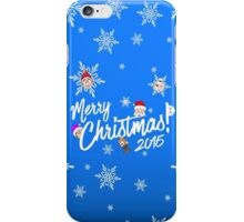 Merry Christmas 2015 iPhone Case/Skin