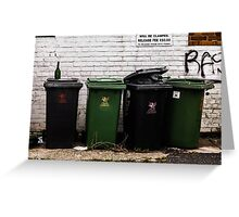 The bins Greeting Card