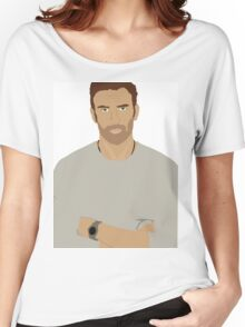Chris Evans Rotoscope Women's Relaxed Fit T-Shirt