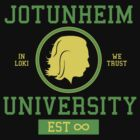 Jotunheim University by FANATEE