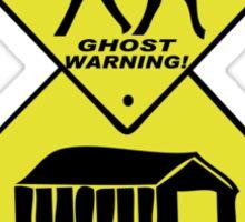 Sleepy Hollow Warning Signs Sticker