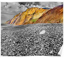 Life Is Good On The Beach - Alum Bay - I.O.W. Poster