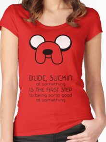 Jake Quote Women's Fitted Scoop T-Shirt