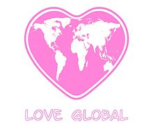 Love Global Pink by Martin Rosenberger