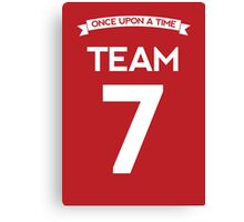 Once Upon a Time - Team 7 - Red Canvas Print