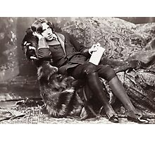 Oscar Wilde Photographic Print