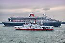 The Cunard Queen Mary 2 by Colin J Williams Photography