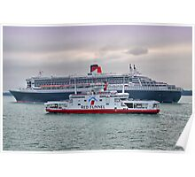 The Cunard Queen Mary 2 Poster