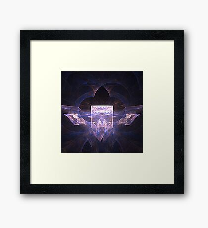 Abstract arched way Framed Print
