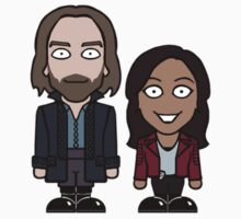 Ichabod and Abbie sticker by redscharlach