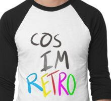 Cos im Retro! T-shirt Men's Baseball ¾ T-Shirt