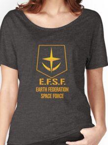 Gundam Earth Federation Women's Relaxed Fit T-Shirt