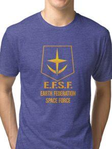 Gundam Earth Federation Tri-blend T-Shirt