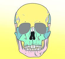 FUNKY SKULL (POP ART STYLE) iPad Case by GayRiot