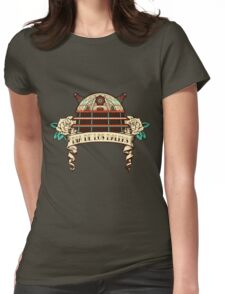 Dia de los Daleks II Womens Fitted T-Shirt