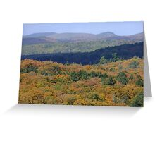 The View From Booths Rock Trail. Algonquin Park- Sept 23 2013. Greeting Card