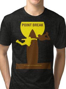Point Break 2015 logo surfing Tri-blend T-Shirt