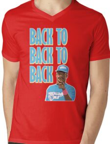 Back to Back to Back Mens V-Neck T-Shirt