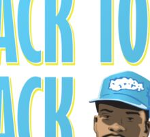 Back to Back to Back Sticker