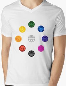 emotional Spectrum  Mens V-Neck T-Shirt