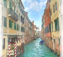 Venetian watercolour by SteveHphotos