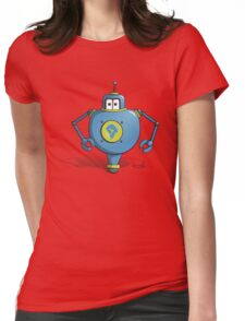 Robot Po Womens Fitted T-Shirt