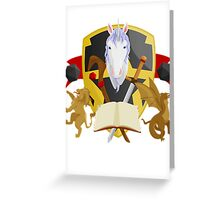 Mythical Crest Greeting Card