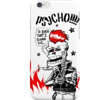 Psychobilly Skull!!! (1) iPhone Case/Skin