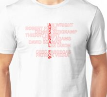 Arsenal Legends  Unisex T-Shirt