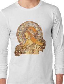 Mucha – Zodiac Long Sleeve T-Shirt