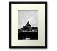 The Tower From Below Framed Print