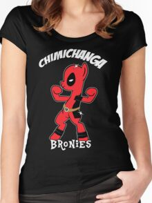 My Little Brony Pony Women's Fitted Scoop T-Shirt