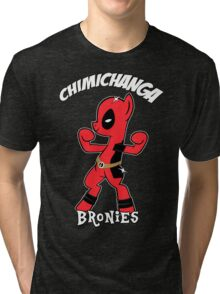 My Little Brony Pony Tri-blend T-Shirt