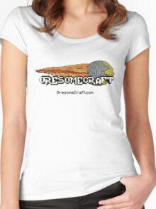 Oresomecraft Basic T shirt Women's Fitted Scoop T-Shirt