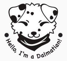 Hello, I'm a Dalmatian! by Bettina-Jeannette  Bierwirth