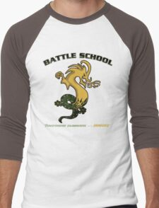 Battle School Dragon Army Men's Baseball ¾ T-Shirt