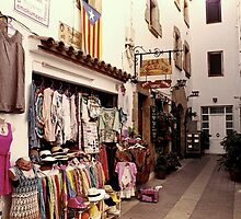 A Colorful Street in Catalunya by James2001