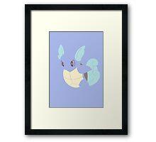 008 Wartortle Framed Print