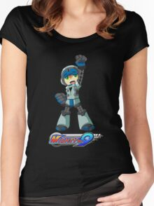 Mighty No. 9 Women's Fitted Scoop T-Shirt