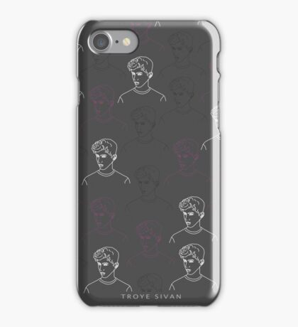 TROYE SIVAN MOSAIC - CHARCOAL iPhone Case/Skin