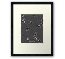 TROYE SIVAN MOSAIC - CHARCOAL Framed Print