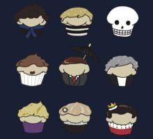 Cupcake!Lock One Piece - Short Sleeve