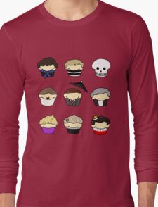 Cupcake!Lock Long Sleeve T-Shirt