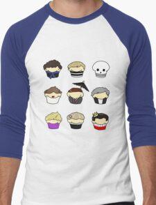 Cupcake!Lock Men's Baseball ¾ T-Shirt